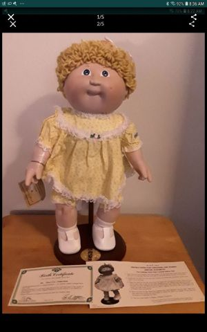 Cabbage patch porcelain doll for Sale in Azusa, CA