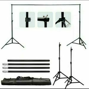10 ft Heavy Duty Adjustable Photography Background Support Stand Kit With Case for Sale in Plantation, FL
