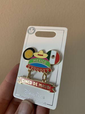 Disney Pin - Cinco De Mayo 2020 new in card for Sale in Tavares, FL