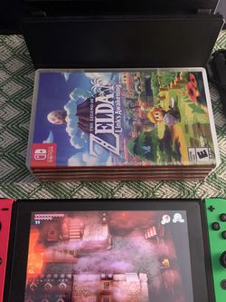 Nintendo switch w/ 4 Games for Sale in Manassas,  VA