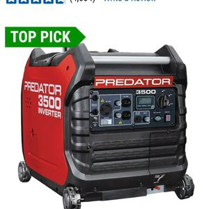 Predator 3500 Watt Inverter Generator Super Quiet ☆$500 EACH FIRM☆ for Sale in City of Industry, CA