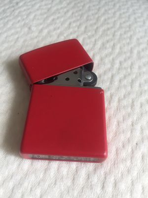 1 Red Zippo light made in USA for Sale in Toms River, NJ