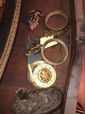 Antique French Clock Parts and Ornaments for Sale in Los Angeles, CA