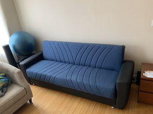 Comfy futon w/storage for Sale in New York, NY