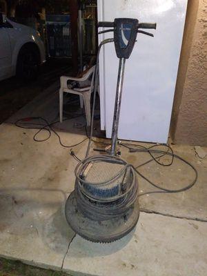 Powr flite commercial floor scrubber for Sale in Kingsburg, CA