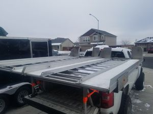 Snowmobile/sled deck hi-light aluminum, like new for Sale in Seattle, WA
