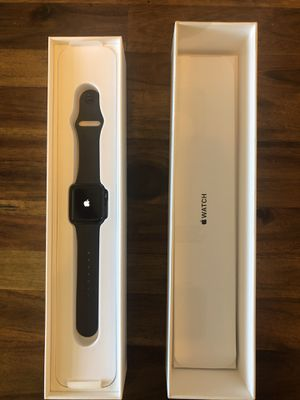 iwatch apple series 3 (color: space grey) for Sale in San Diego, CA