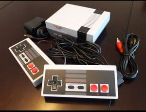 Mini Nintendo Style Video Console 600 Classic Games Installed. Super Mario Brothers,Donkey Kong, Contra Pacman & More! 2 Controllers $35 for Sale in Atlanta, GA