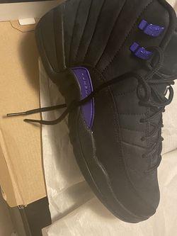 Air Jordan 12 Retro Black And Purple for Sale in Allentown,  PA