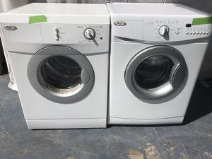 "Whirlpool Front Loading 24"" Stackable washer Dryer set for Sale in Denver, CO"
