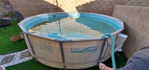 Plastic pool almost new for Sale in Las Vegas, NV