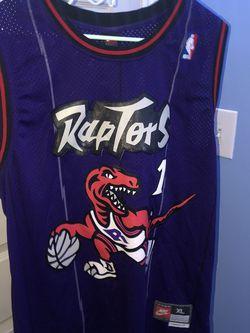 Throwback T-Mac Raptors Jersey for Sale in West Valley City,  UT