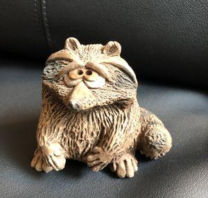 Really Sweet Ceramic Raccoon Figurine for Sale in San Angelo, TX