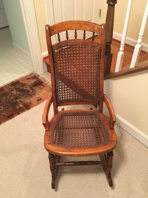 Antique Cane backed Rocking Chair for Sale in Alexandria, VA