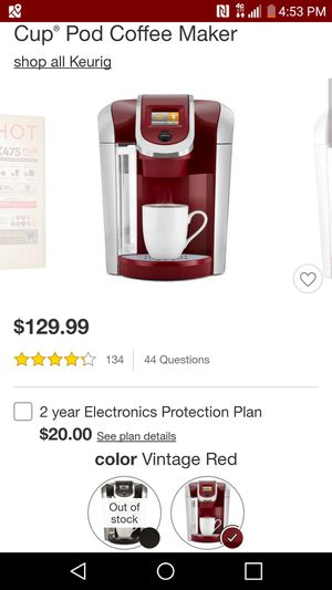 Keurig for Sale in Marble Cliff, OH