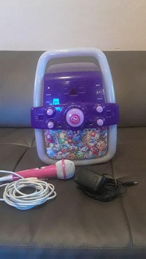 Shopkins Karaoke with Mic (make me an offer!) for Sale in Hollywood, FL