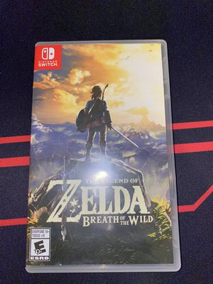 Zelda breath of the wild for Sale in Houston, TX