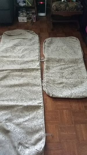 Outdoor cushion covers for 2 loungers and 4 chairs by Winston patio furniture for Sale in Orlando, FL