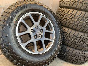 "18"" JEEP Rubicon Wrangler Wheels Tires Rims Sahara edition Gladiator for Sale in Rio Linda, CA"