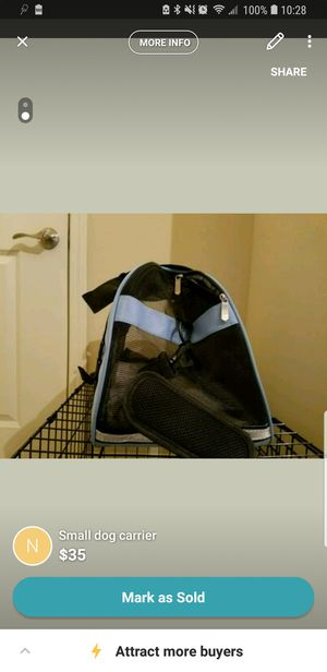 Airplane approved carrying bag for your pet for Sale in Marietta, GA