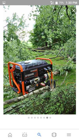 Generator 8000 for Sale in Greeneville, TN