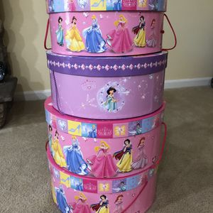 4 Princess Hat Boxes for Sale in Monroe Township, NJ