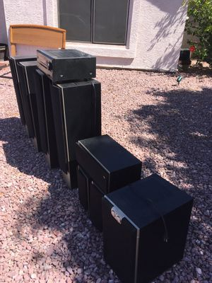 ONKYO Amplifier and speaker set for Sale in Phoenix, AZ