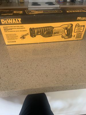 Dewalt reciprocating saw for Sale in Orlando, FL