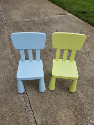IKEA kid chairs set of 2 for Sale in Pacifica, CA