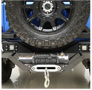 Removable 2 inch Hich Receiver Cradle Winch Mount for 8,000-12,000lb Winch for Sale in Riverside, CA