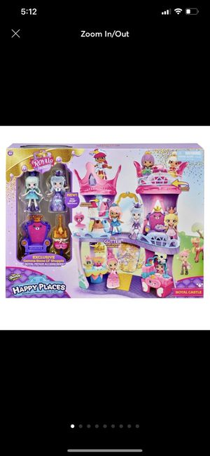 Shopkins happy places royal castle for Sale in Miramar, FL
