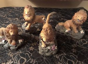Vintage Lions Resin Statues * Leo for Sale in Scottsdale, AZ