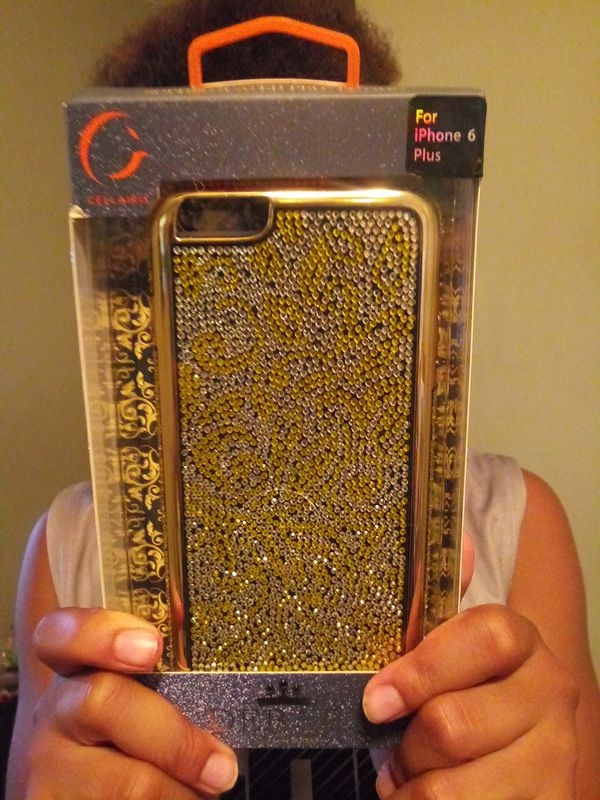 Iphone 6 plus case with Crystal pattern $5