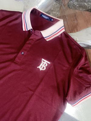 LARGE BURBERRY POLO SHIRT FOR MEN for Sale in Dallas, TX