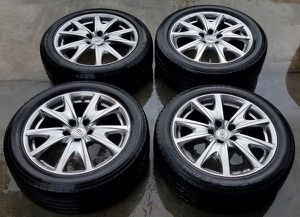 """2007-2015 INFINITI G37 SPORT 18""""INCH OEM WHEELS WITH TIRES SET for Sale in Fort Lauderdale, FL"""