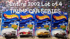 Hotwheels trump car series for Sale in Anaheim, CA