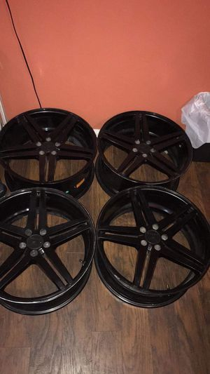 Black rims for Sale in National City, CA