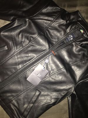 Emporio & Co Leather Jacket for Sale in Edinburg, TX