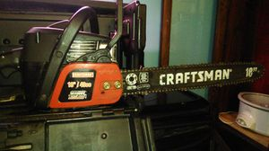 Craftsman chainsaw 18in for Sale in Martinsburg, WV