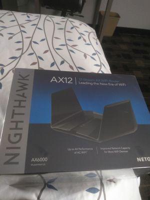 NETGEAR - Nighthawk AX12 12-Stream AX6000 Wi-Fi 6 Router for Sale in Milpitas, CA