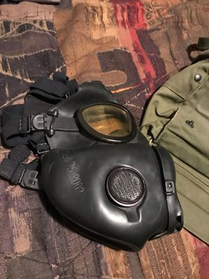 Gas mask(with bag) for Sale in San Antonio, TX