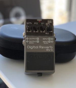 Boss RV-5 Guitar Reverb Pedal for Sale in Los Angeles, CA
