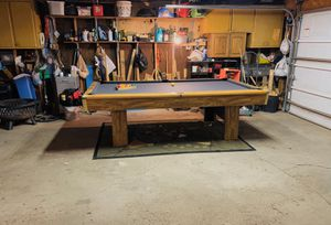 Brunswick 8ft Slate Pool Table Billiards (DELIVERED & INSTALLED!!)🎱 for Sale in Chicago, IL
