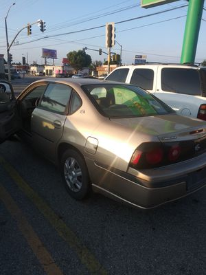 Car parts ..but car runs great 04 chevy only registration for Sale in Lynwood, CA