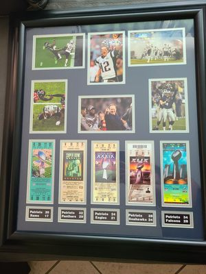 Patriots frame for Sale in Lakeland, FL