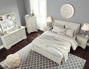 Jorstad Gray Sleigh Bedroom Set ASHLEY for Sale in Houston, TX