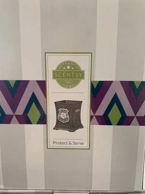 Protect and serve scentsy warmer for Sale in Yorktown, VA