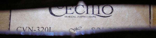 Lefty 4/4 Violin by Cecilio
