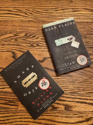 Gillian Flynn books Sharp Objects Dark Places for Sale in St. Louis, MO
