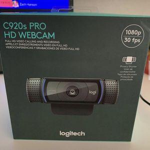 Logitech C920S Webcam for Sale in Glendale, AZ